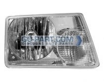 2001-2003 Ford Ranger Headlight Assembly - Left (Driver)