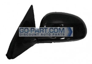 2001-2005 Honda Civic Side View Mirror (Coupe / EX / Power Remote / Non-Heated) - Left (Driver)