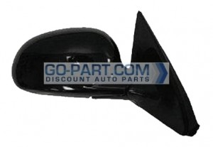 2001-2005 Honda Civic Side View Mirror (Coupe / EX / Power Remote / Non-Heated) - Right (Passenger)