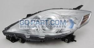 2008-2009 Mazda 5 Mazda5 Headlight Assembly - Left (Driver)