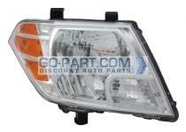 2009-2011 Nissan Frontier Pickup Headlight Assembly - Right (Passenger)