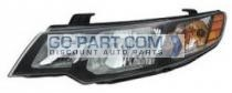 2010-2011 Kia Forte Headlight Assembly - Left (Driver)