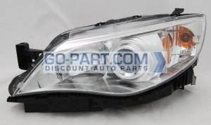 2008-2009 Subaru Impreza Headlight Assembly - Left (Driver)