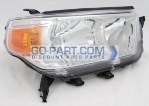 2010-2011 Toyota 4Runner Headlight Assembly (Limited / SR5)- Right (Passenger)