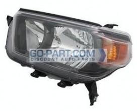 2010-2011 Toyota 4Runner Headlight Assembly (Trail) - Left (Driver)