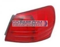 2008-2011 Nissan Rogue Tail Light Rear Lamp - Right (Passenger)