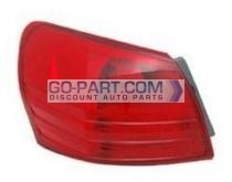 2008-2011 Nissan Rogue Tail Light Rear Lamp - Left (Driver)