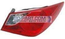 2011-2011 Hyundai Sonata Tail Light Rear Lamp - Right (Passenger)