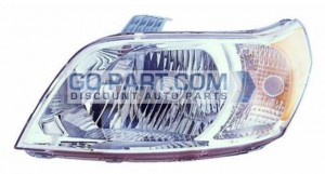 2010-2011 Chevrolet (Chevy) Aveo 5 Headlight Assembly - Left (Driver)