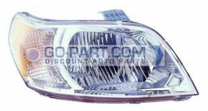 2010-2011 Chevrolet (Chevy) Aveo 5 Headlight Assembly - Right (Passenger)