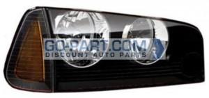 2008-2010 Dodge Charger Headlight Assembly (HID) - Right (Passenger)