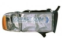 1999-2001 Dodge Ram Headlight Assembly - Right (Passenger)