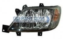 2003-2006 Dodge Sprinter Van Headlight Assembly (For Models without Fog Lamps)- Left (Driver)