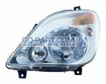2007-2009 Dodge Sprinter Van Headlight Assembly - Left (Driver)