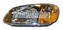 2007-2007 Kia Spectra5 Headlight Assembly - Left (Driver)
