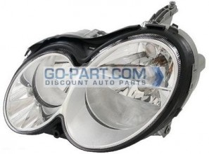 2006-2006 Mercedes Benz CLK350 Headlight Assembly - Left (Driver)