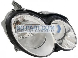 2003-2006 Mercedes Benz CLK500 Headlight Assembly - Right (Passenger)