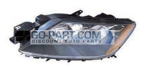 2009-2009 Mazda CX7 Headlight Assembly - Left (Driver)