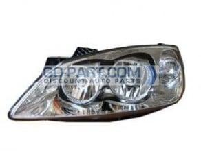 2009-2010 Pontiac G6 Headlight Assembly - Left (Driver)