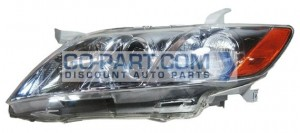 2007-2009 Toyota Camry Hybrid Headlight Assembly (For USA Built Models) - Left (Driver)