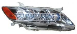 2007-2009 Toyota Camry Hybrid Headlight Assembly (For USA Built Models) - Right (Passenger)