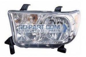 2009-2011 Toyota Tundra Pickup Headlight Assembly - Left (Driver)