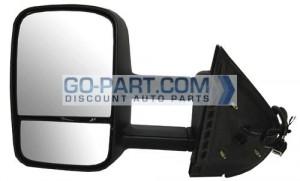 2009-2010 GMC Sierra Hybrid Side View Mirror - Left (Driver)