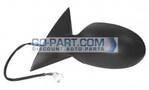 2002-2006 Ford Taurus Side View Mirror (Smooth With Textured Covers) - Left (Driver)