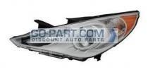 2011-2011 Hyundai Sonata Headlight Assembly - Left (Driver)