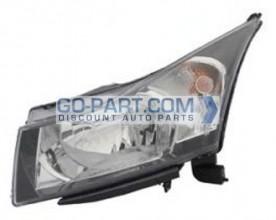 2011-2012 Chevrolet (Chevy) Cruze Headlight Assembly - Left (Driver)