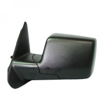 2006-2011 Ford Ranger Side View Mirror (Power / Non-Heated / Black) - Left (Driver)