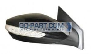2011-2011 Hyundai Sonata Side View Mirror (With Signal Lamp) - Right (Passenger)