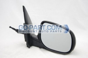 2010-2011 Kia Forte Side View Mirror - Right (Passenger)
