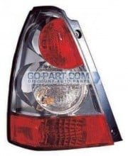 2006-2007 Subaru Forester Tail Light Rear Lamp - Left (Driver)