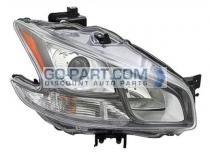 2011-2012 Nissan Maxima Headlight Assembly - Right (Passenger)