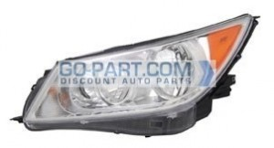 2010-2012 Buick Allure Headlight Assembly - Left (Driver)