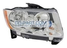 2011-2011 Jeep Compass Headlight Assembly - Right (Passenger)