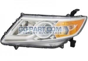 2011-2011 Honda Odyssey Headlight Assembly - Left (Driver)