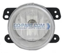 2010-2011 Jeep Wrangler Fog Light Lamp - Left or Right (Driver or Passenger)
