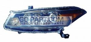 2011-2012 Honda Accord Headlight Assembly - Left (Driver)
