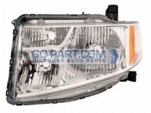 2009-2011 Honda Element Headlight Assembly - Left (Driver)
