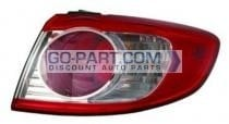 2010-2011 Hyundai Santa Fe Tail Light Rear Lamp - Right (Passenger)