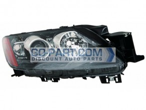 2010-2011 Mazda CX7 Headlight Assembly - Right (Passenger)