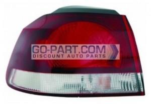 2010-2011 Volkswagen Golf / GTI / GTA Tail Light Rear Lamp - Left (Driver)