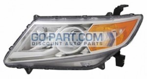 2011-2012 Honda Odyssey Headlight Assembly - Left (Driver)