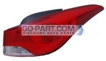 2011-2012 Hyundai Elantra Tail Light Rear Lamp - Right (Passenger)