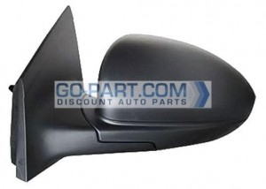 2011-2012 Chevrolet (Chevy) Cruze Side View Mirror - Left (Driver)