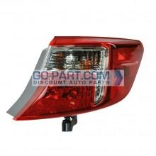 2012-2012 Toyota Camry Hybrid Tail Light Rear Lamp - Right (Passenger)