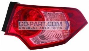 2011-2012 Acura TSX Tail Light Rear Lamp - Right (Passenger)