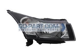 2012-2013 Chevrolet (Chevy) Cruze Headlight Assembly - Right (Passenger)